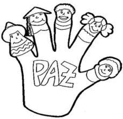 Dibujos Para Colorear Del Dia De La Paz