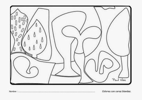 Cuadros De Paul Klee Para Colorear Landhaus Thomas R  Senecio