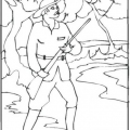 Dibujos Para Colorear Cazador