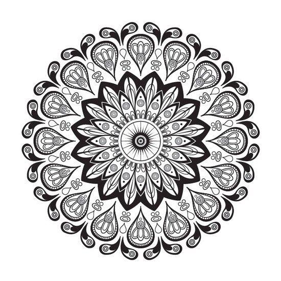 Mandalas Florales Para Imprimir Pdf Gratis