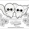Yoohoo Friends Para Colorear