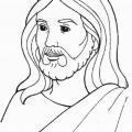 Dibujos De Jesus Para Colorear