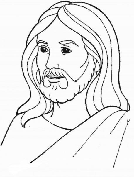 Resultado De Imagen Para Jesus Para Colorear