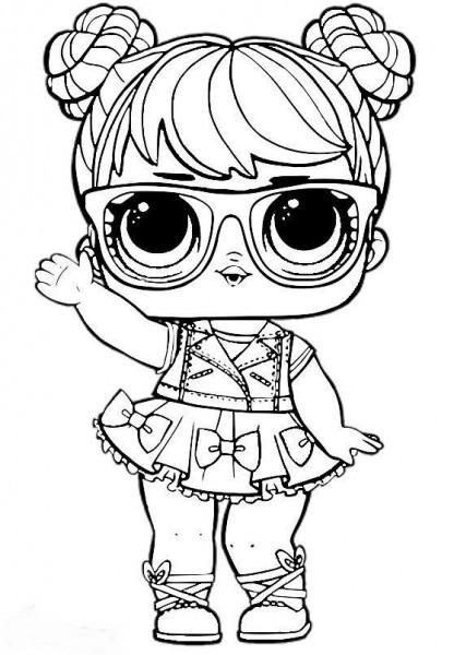 Dibujos Para Colorear  Muñecas Lol