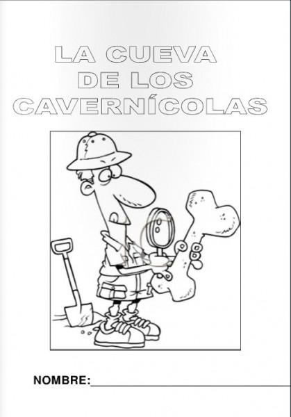 Escuela Infantil Castillo De Blanca  Fichas Colorear Prehistoria