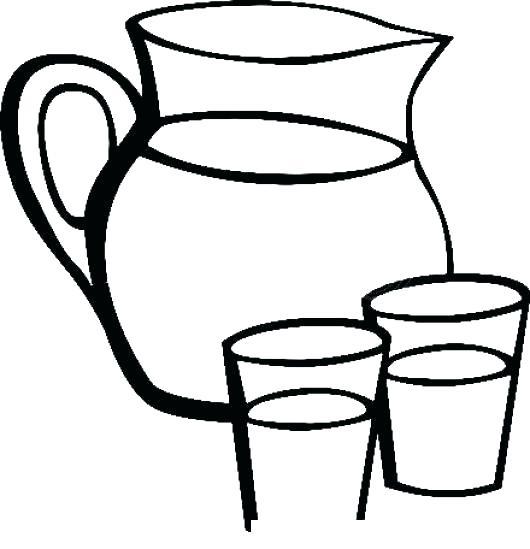 Dibujos De Agua Potable Para Colorear