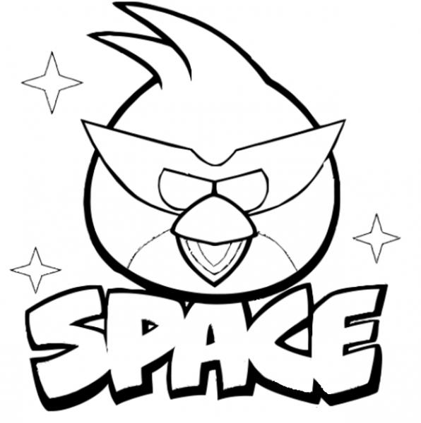 Dibujos De Angry Birds Space Para Pintar ~ Dibujos Para Niños
