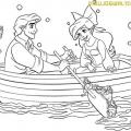 Dibujos Para Colorear Ariel