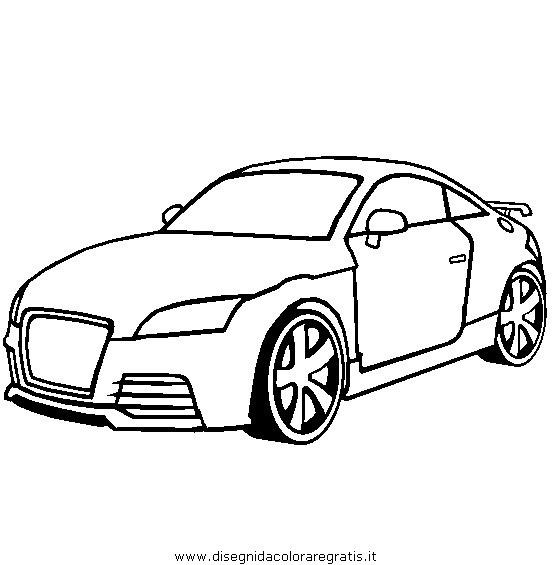 Dibujo Audi