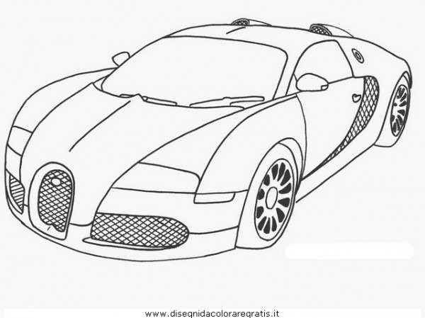 Dibujos De Autos Para Colorear