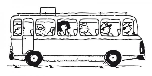Autobús Viajeros