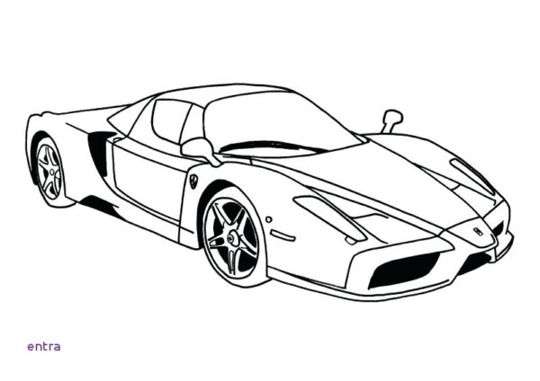 Dibujos De Carros Para Colorear (super Deportivos)