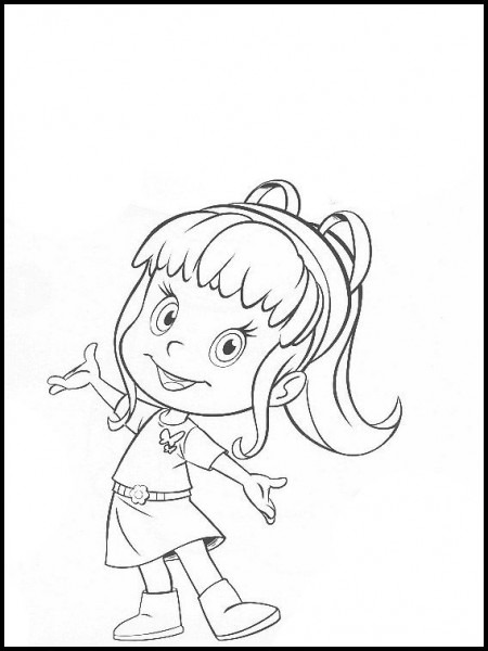 Cleo And Cuquin 16 Printable Coloring Pages For Kids