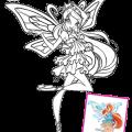 Dibujos Para Colorear De Las Winx Club En Enchantix