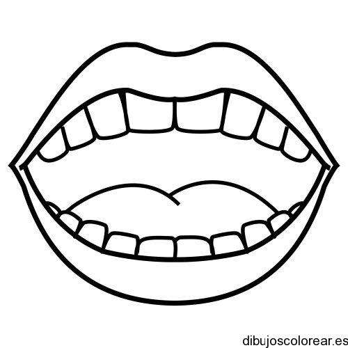 Dibujo De Una Sonrisa Para Colorear
