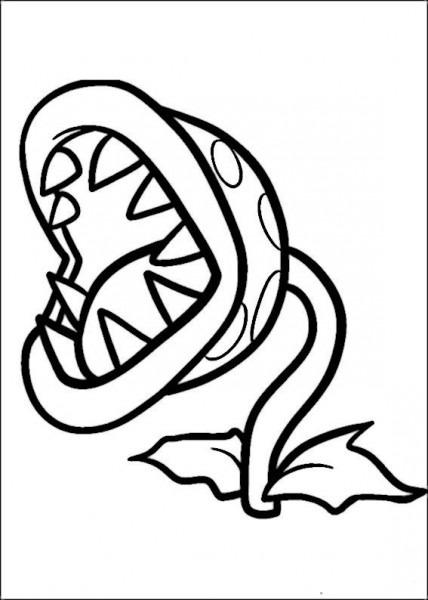 Dibujos Para Colorear Mario Bross 9
