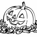 Calabaza Halloween Colorear