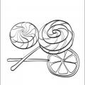 Dibujos De Golosinas Para Imprimir Y Colorear