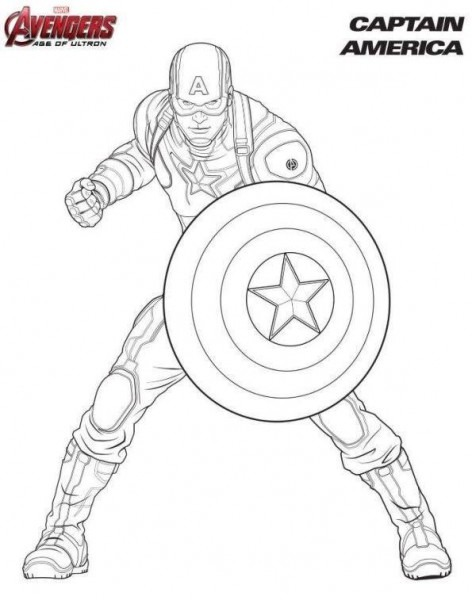 Capitan America Los Vengadores