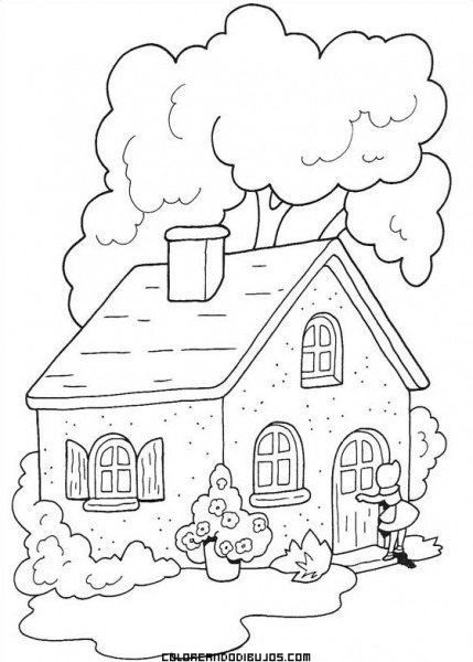 Casa De La Abuelita De Caperucita