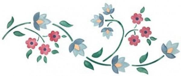 √ Cenefas De Flores Para Colorear E Imprimir