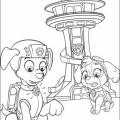 Dibujos Para Colorear De La Patrulla Canina En El Ordenador