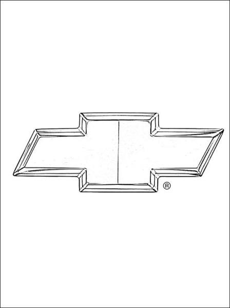 Chevrolet Desenho Para Colorir