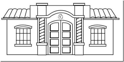 Dibujo De Banco Para Colorear