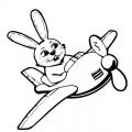 Dibujos Aviones Infantiles Para Colorear