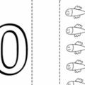 Numero 10 Para Colorear
