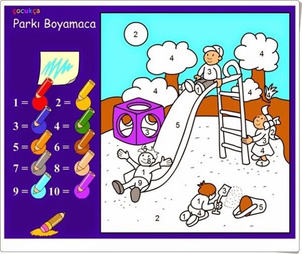 Juegos Educativos De Matemáticas Online   Colorear Según Los