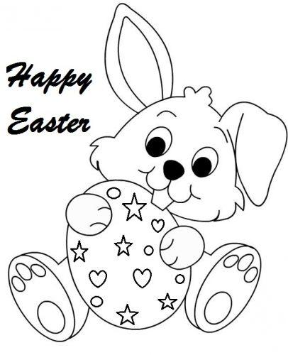 ▷ Conejos De Pascua, La Mejor Galería De Dibujos Para Colorear