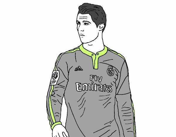 Dibujo De Cristiano Ronaldo Pintado Por En Dibujos Net El Día 08