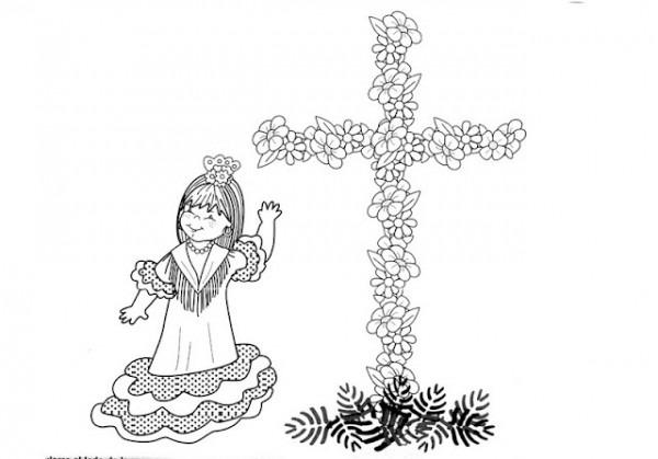 Cruces De Mayo  Historia Y Materiales Para Colorear