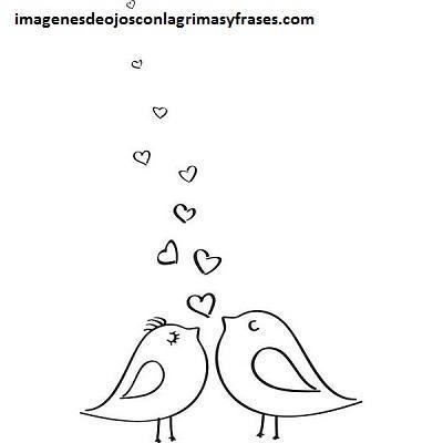 Cuatro Lindos Dibujos Del Amor Y Amistad Para Colorear Facil