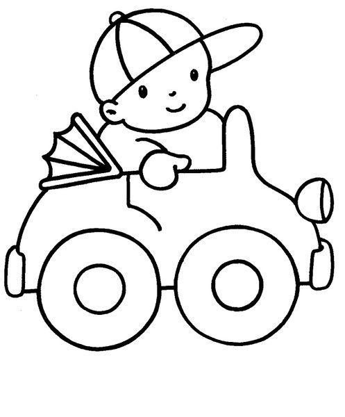 Dibujos Para Pintar Niños De 3 A 5 Años  Dibujos