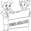 Dibujos Para Colorear Dia De Andalucia