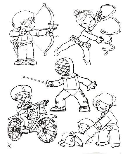 Dibujos De Deporte Para Pintar