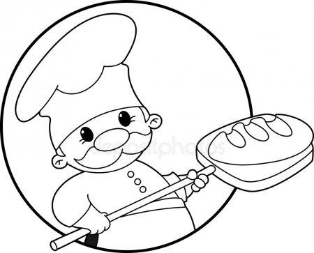 Panadero Imágenes Vectoriales, Ilustraciones Libres De Regalías De