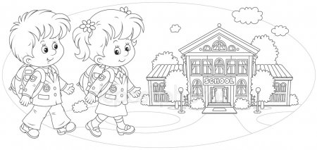 ᐈ Escuela Primaria Imágenes De Stock, Dibujos Escuelas En