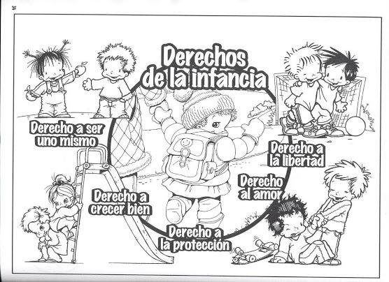 Dibujos Del Día Mundial De Los Derechos De La Infancia Para