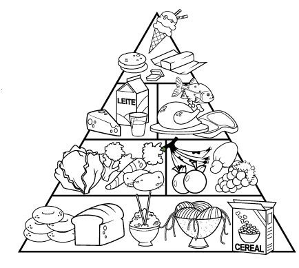 Dibujo Del Día De La Alimentación Para Colorear