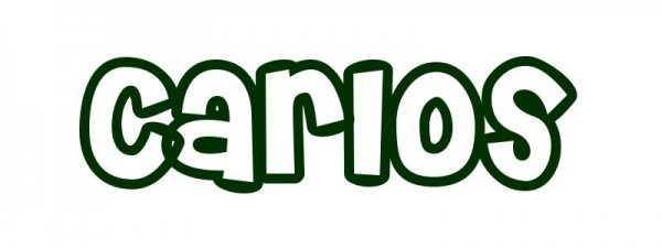 Dibujo Para Colorear Nombre Carlos