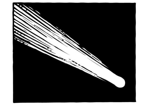 Dibujo Para Colorear Cometa