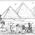 Piramides De Egipto Para Ni?os Para Colorear