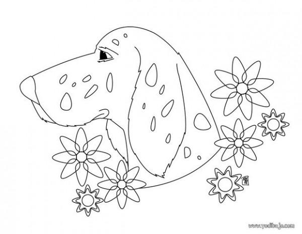 Dibujos Perros Para Colorear