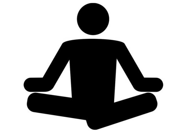 Dibujo Para Colorear Yoga