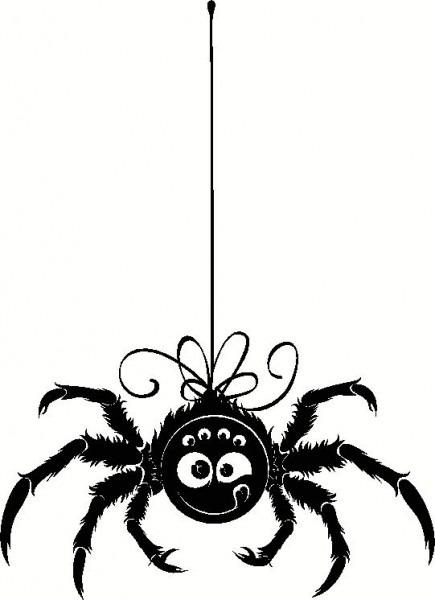 Dibujos De Arañas Para Imprimir Y Pintar