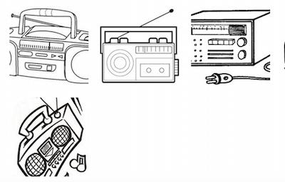 Dibujos De Radios Para Colorear