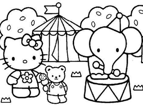 7 Dibujos De Hello Kitty Para Imprimir